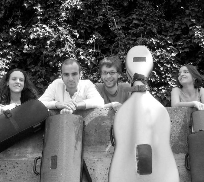 Photo Quatuor Voce
